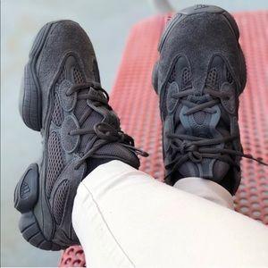 Yeezy Shoes - Adidas Yeezy 500 Utility Black